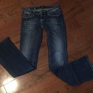 express rerock boot cut jeans 2 Long